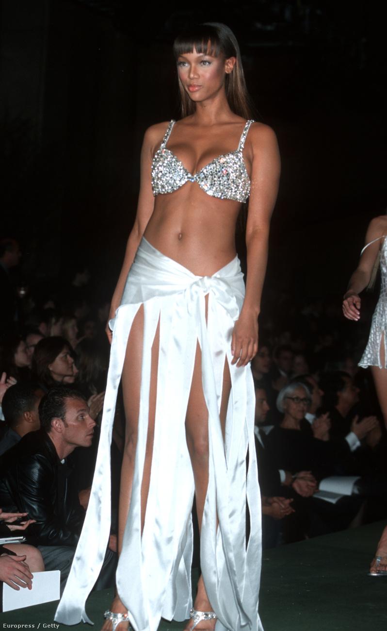 Tyra Banks ezzel a testtel vonult 99-ben