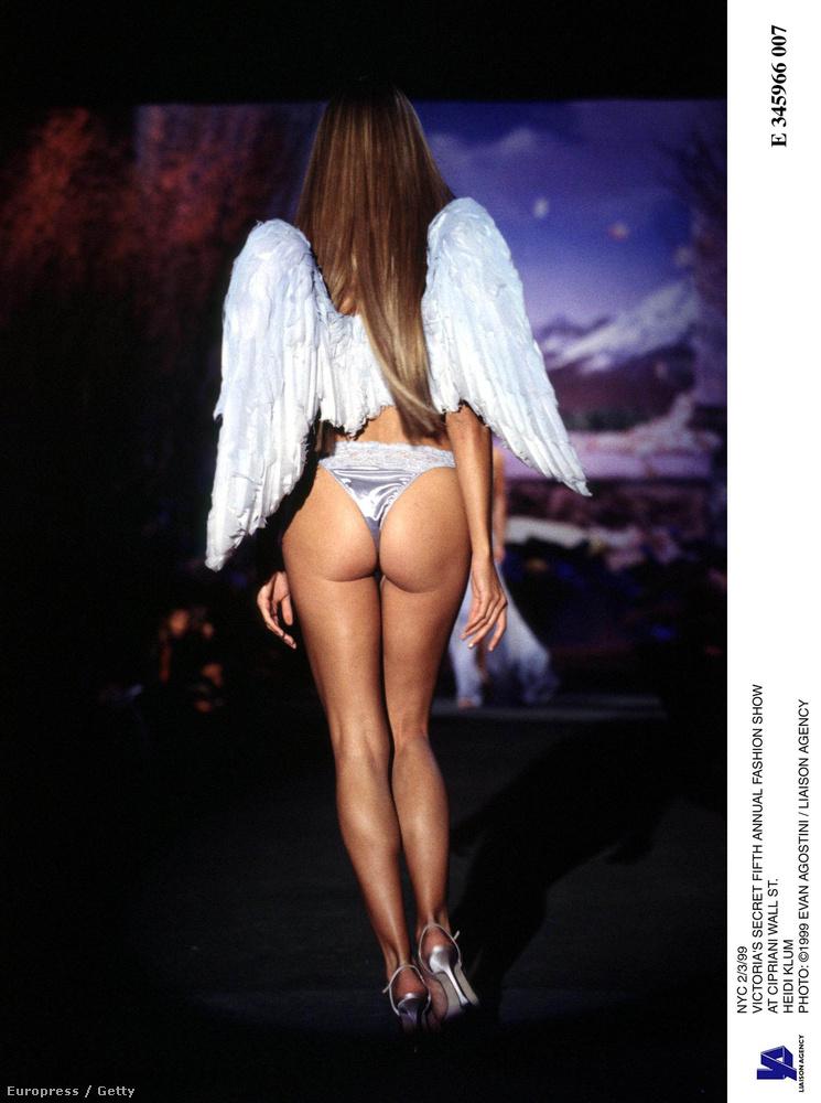 Tudja kinek a szárnyas fenekét látja? Heidi Klumét