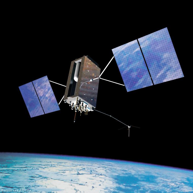 Ez még csak egy sima GPS műhold