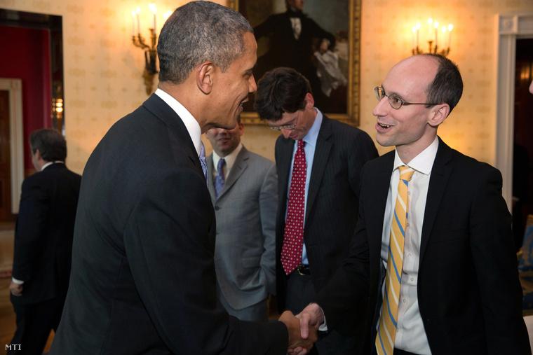 Barack Obama és Árvai Péter