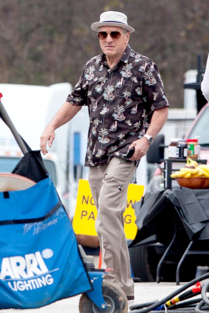 A 71 éves színész éppen a Dirty Grandpa című filmet forgatja