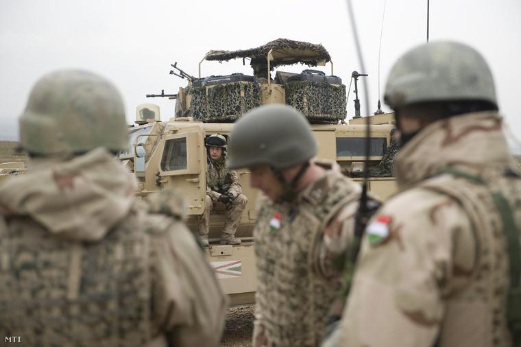 Magyar katonák Afganisztánban (2013.)