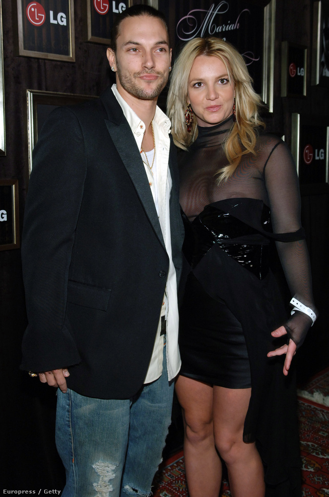 2006-ban kipróbálta ezt az átlátszós vonalat az akkori férje, Kevin Federline mellett,