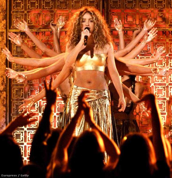 Shakira 2007-ben.