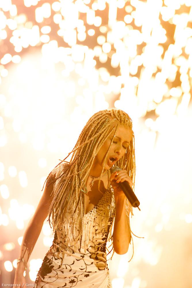 A legnagyobb átváltozó talán Christina Aguilera