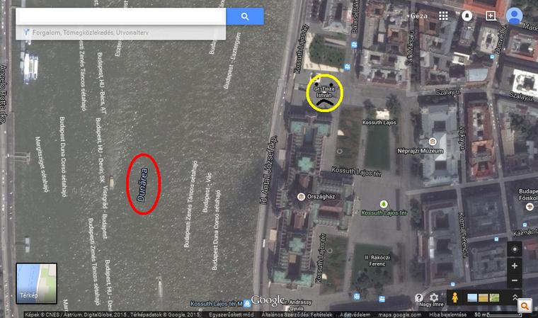 google térkép esztergom Index   Urbanista   Meddig tart a román megszállás? A Google  google térkép esztergom