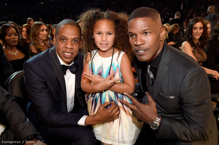 Jay Z, Annalise Bishop és Jamie Foxx