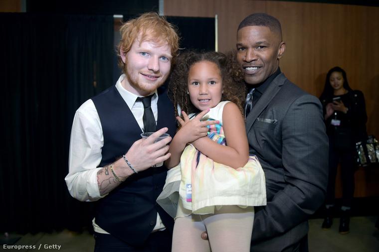 Ed Sheeran, Annalise Bishop és Jaime Foxx