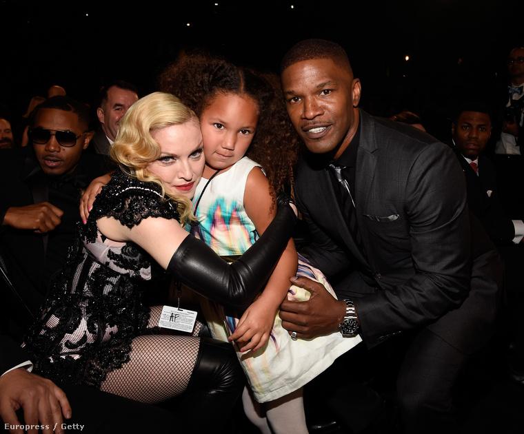 Madonna, Annalise Bishop és Jamie Foxx