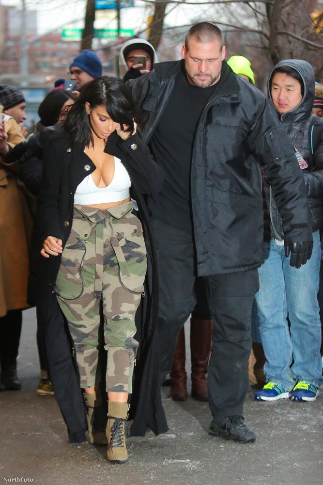 És mekkora Kardashian testőre a celebnőhöz képest? :DDDDDDD
