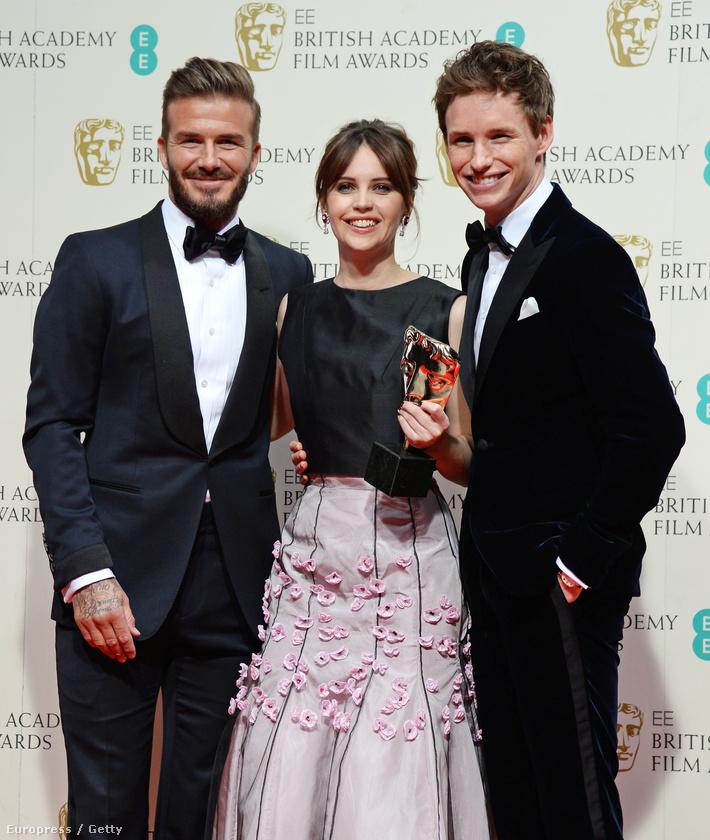 És nyilván Beckham nézett ki a legjobban