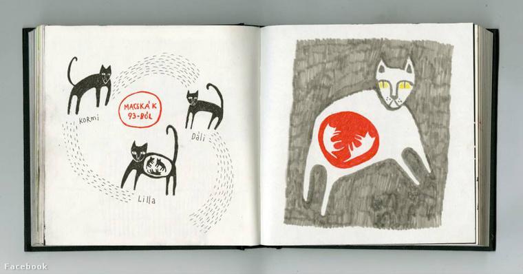 Macskák 93-ból (rajz - Renya)