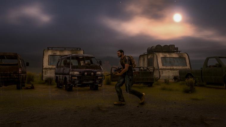 A játékban minden ház, autó és tároló átkutatható.