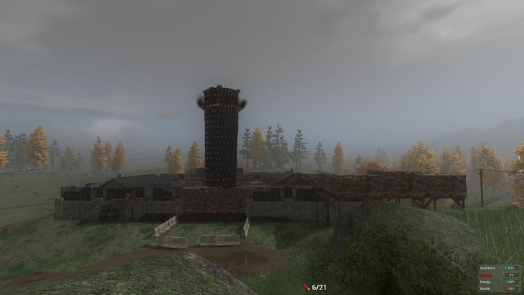 Több száz fadobozból rakta össze egy őrült játékos ezt a hatalmas erődöt. Tippre legalább kétnapnyi játékideje lehet benne.