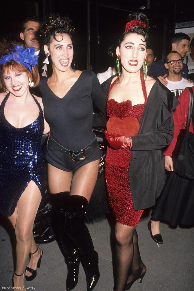 1990-ben is furcsán öltözködtek a színésznők, erre több példa is lesz a galériában