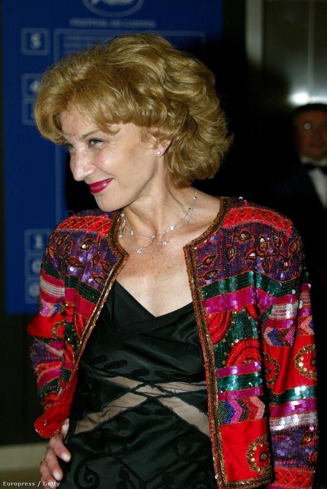 2004-ben szinte semmit nem öregedett, ez a kép Cannes-ban készült