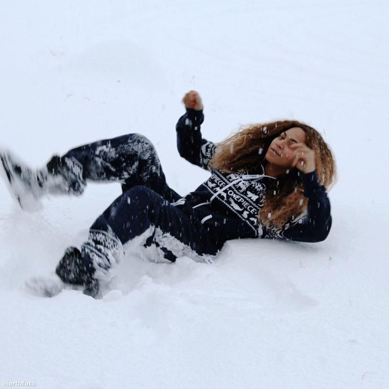 Beyoncéék Izlandon voltak, hát nem egy tipikus síelőhely