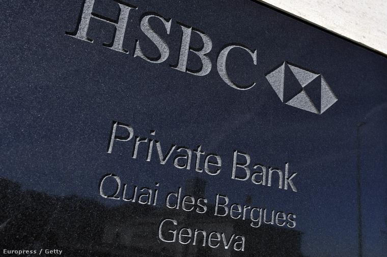 Az HSBC magánfiókja Genfben