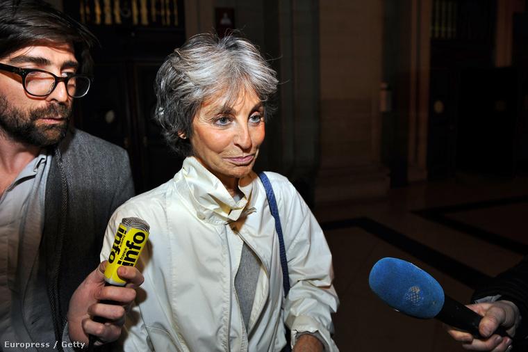 Arlette Ricci február 16-án a párizsi bíróságon adócsalásért állt a vádlottak padján