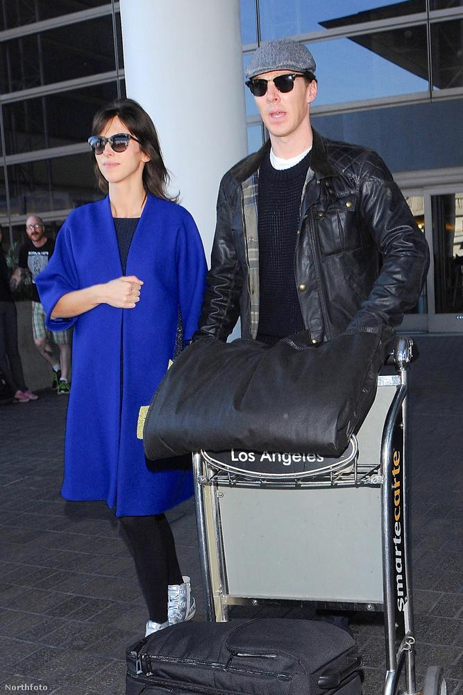 A szombati esküvő után hétfőn már Los Angelesben voltak