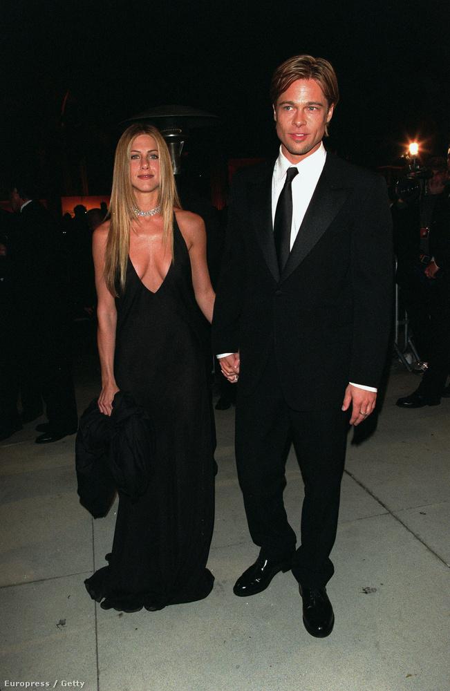és 2000-ben Jennifer Aniston és Brad Pitt még együtt érkeztek.