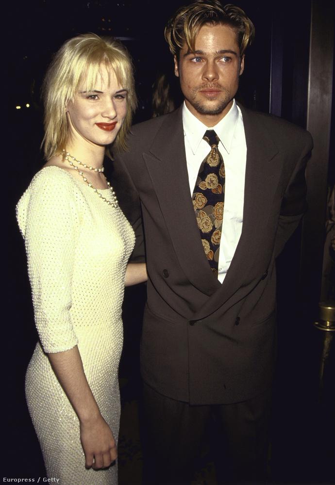 Brad Pitt sem celebként kezdte, volt idő, mikor ő csak a pasi volt Juliette Lewis mellett.