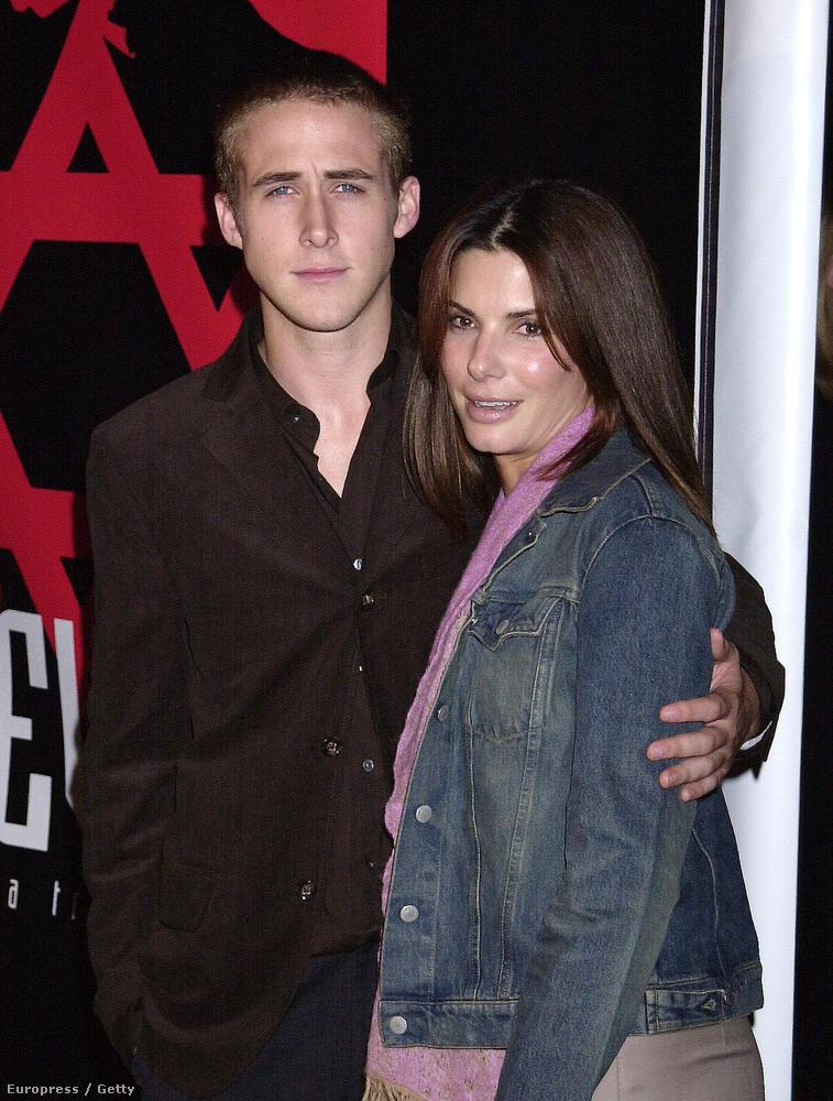 Mint ahogy Ryan Gosling is csak egy fiúcska volt, a híres színésznő, Sandra Bullock mellett.