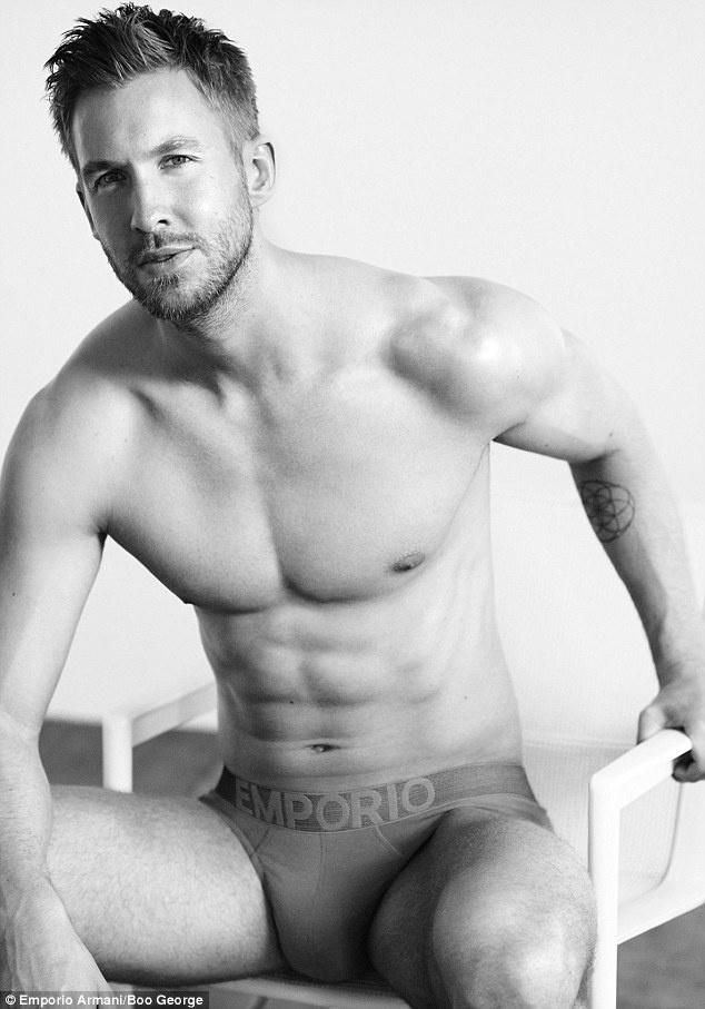 Calvin Harris ma, modellként