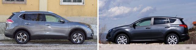 Én szóltam. Mondjuk a RAV4 belseje egy fokkal komolyabb, igényesebb autóét mutatja.