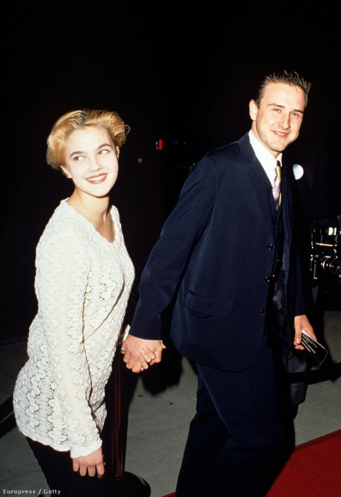 1991-ben egy ideig David Arquette-tel is járt