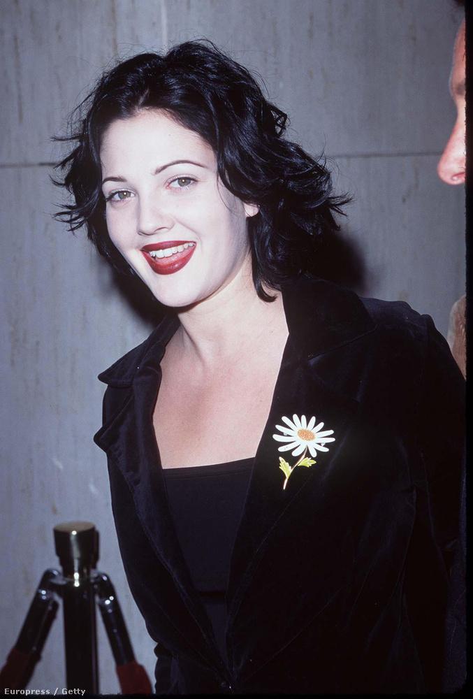 A színésznő már ekkor is előszeretettel váltogatta hajszínét