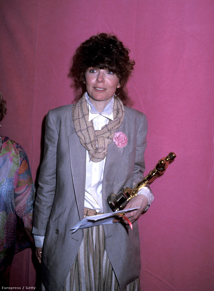 Diane Keatont 1978-ban nem a frufrujáért, hanem az Annie Hall miatt díjazták.