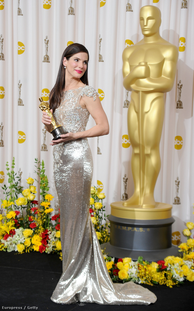 Sandra Bullock A szív bajnokaiért kapott díjat 2010-ben.