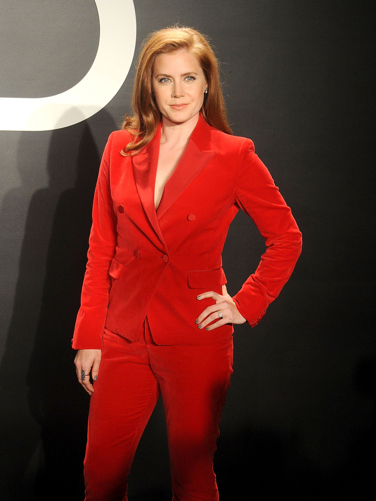 Amy Adams nem vitte túlzásba az öltözködést