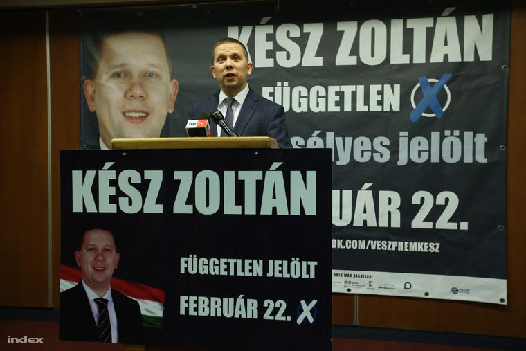 Kész Zoltán rövid sajtótájékoztatója