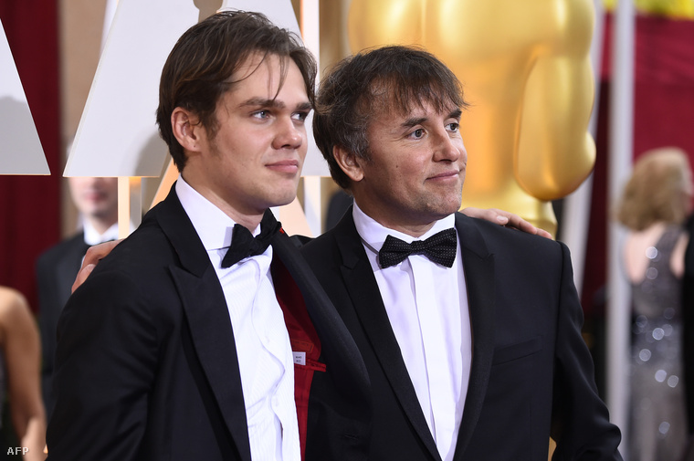 Ellar Coltrane és Richard Linklater