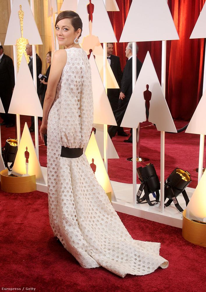 Marion Cotillard a Diortól választott estélyit