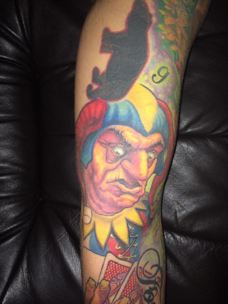 """""""A fekete jegesmaci az első tetoválásom, 13 évesen csináltattam"""