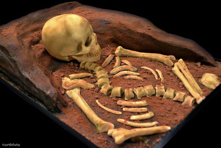 Annabel De Vetten, egy német cukrász úgy döntött, megcsinálja a sírt tortának, ez itt az.
