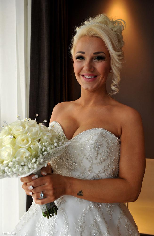 Ő volt a menyasszony...