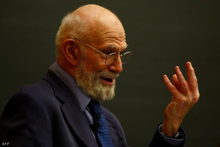 Oliver Sacks 2009-ben, a Columbia Egyetemen tartott előadáson