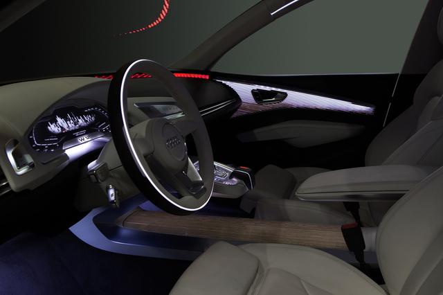 Az Audi Prologue beltér világítása