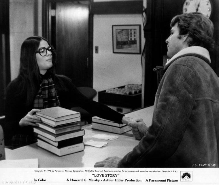 Az egész szerelem a könyvtárban kezdődött