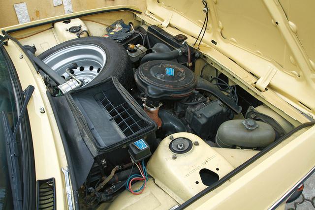 A motor és a váltó is teljes egészében a FIAT 128-ból származik