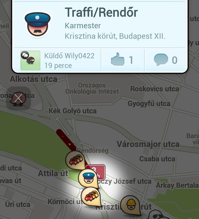 A Waze sok szempontból fejlettebb és alapvetően nem is a traffipaxos ellenőrzések elkerülésére született app. Megbízhatóbb, mint a Traffi Hunter