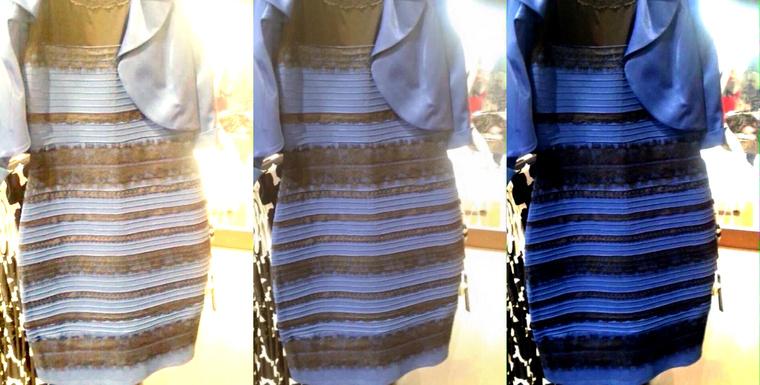 08de56e0e9 Ha egy ismerőse véletlenül fehér/aranynak látná ezt a ruhát, legyen vele  türelmes és megértő. Igazán nem tehet róla.