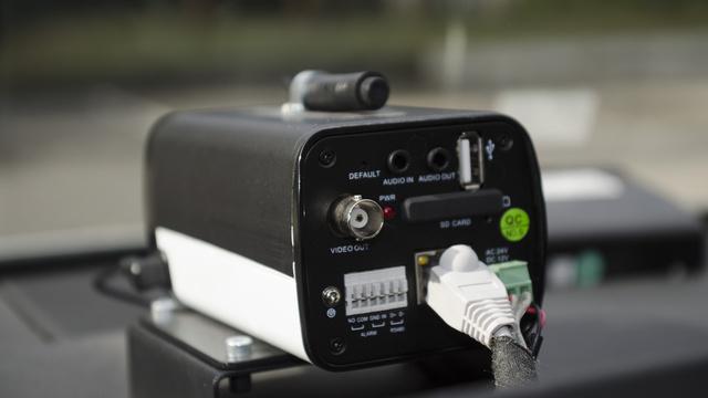 Egy átlagos fedélzeti kameránál lényegesen nagyobb a rendőrség dashcamje