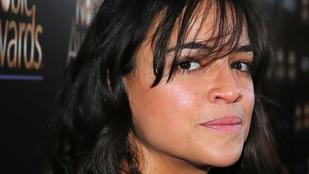 Michelle Rodriguez alvajáróként érkezett egy gálára