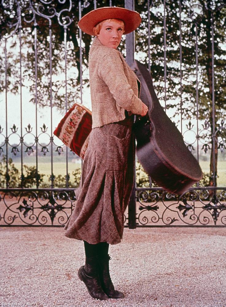 na meg a bájos Julie Andrewst, akkor mindenképpen nézze meg A muzsika hangját.
