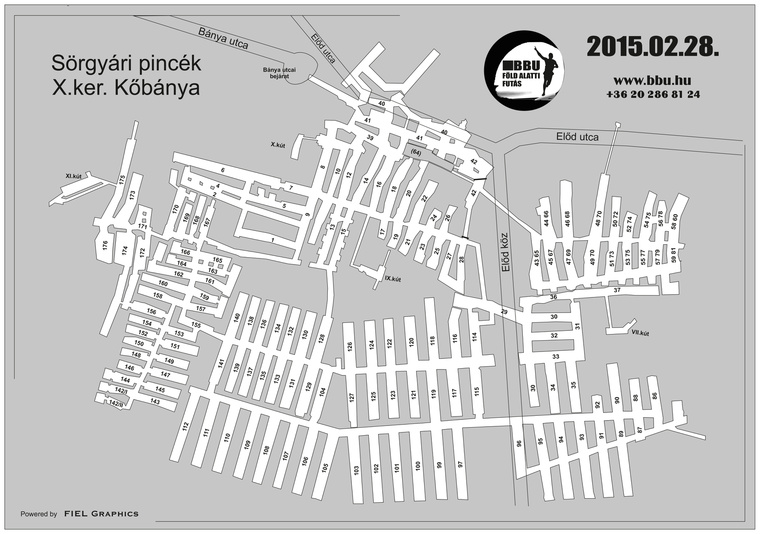 Sörgyár pince térkép pdf
